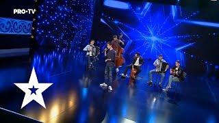 Tango si muzica de suflet a la Moldova 7 Klase - Romanii au Talent