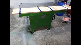 Build a crosscut sled