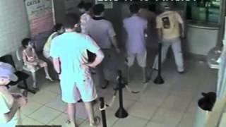 Polícia Civil divulga vídeo de assalto à lotérica na Barra
