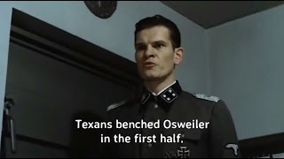 Hitler Reacts To Texans Benching Osweiler Against Jaguars