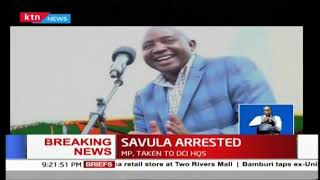 BREAKING NEWS: LUGARI MP, AYUB SAVULA ARRESTED