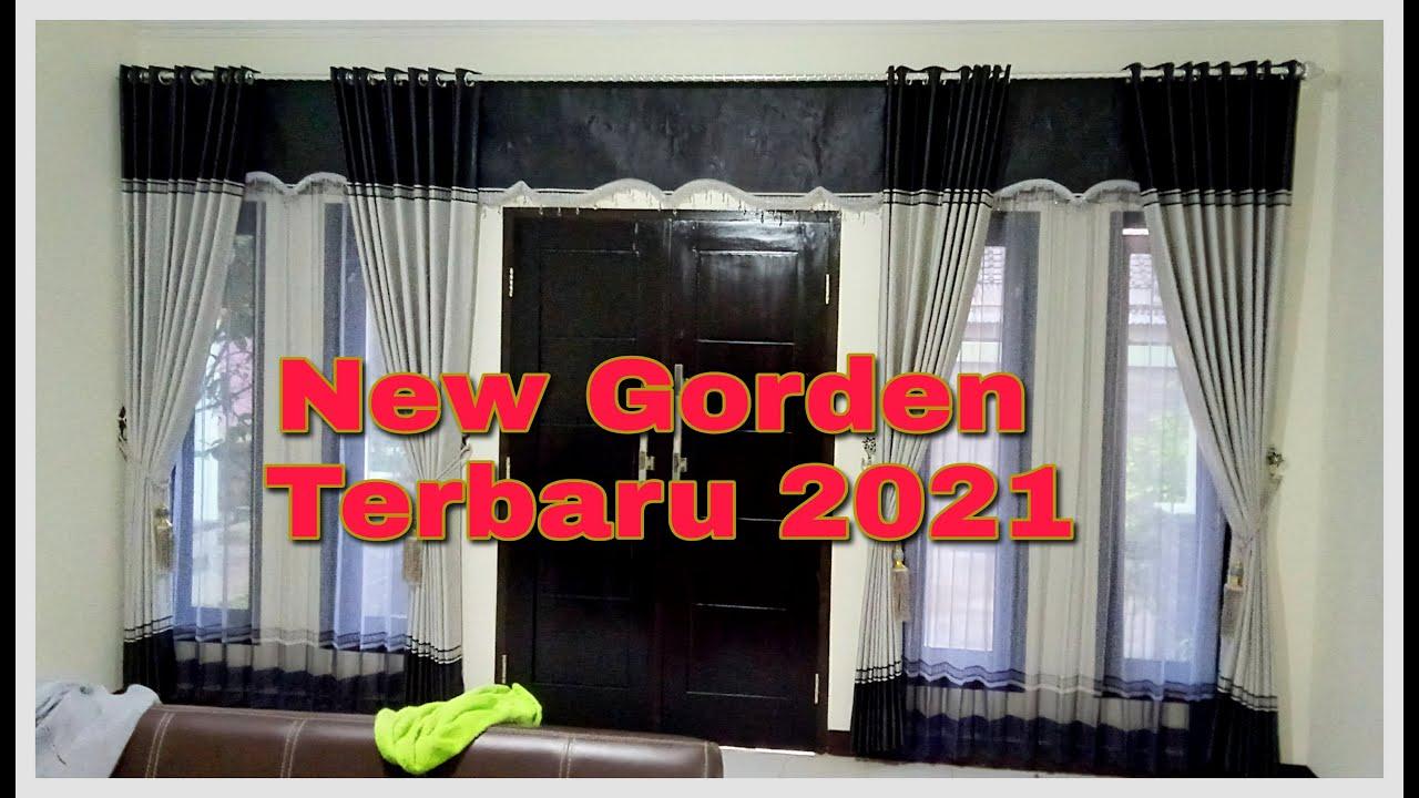 New Gorden Terbaru Pintu Depan Dan Pintu Tengah 2021 Youtube Gorden terbaru 2021