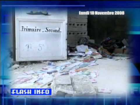 School Collapse HAITI FLASH INFO NOV 10, 2008