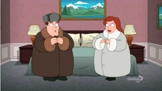 Family Guy compilation: jokes about Russia (part 1)