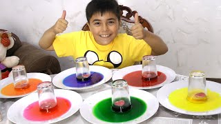 Easy DIY Science Experiments For Kids with Ryan and Candles