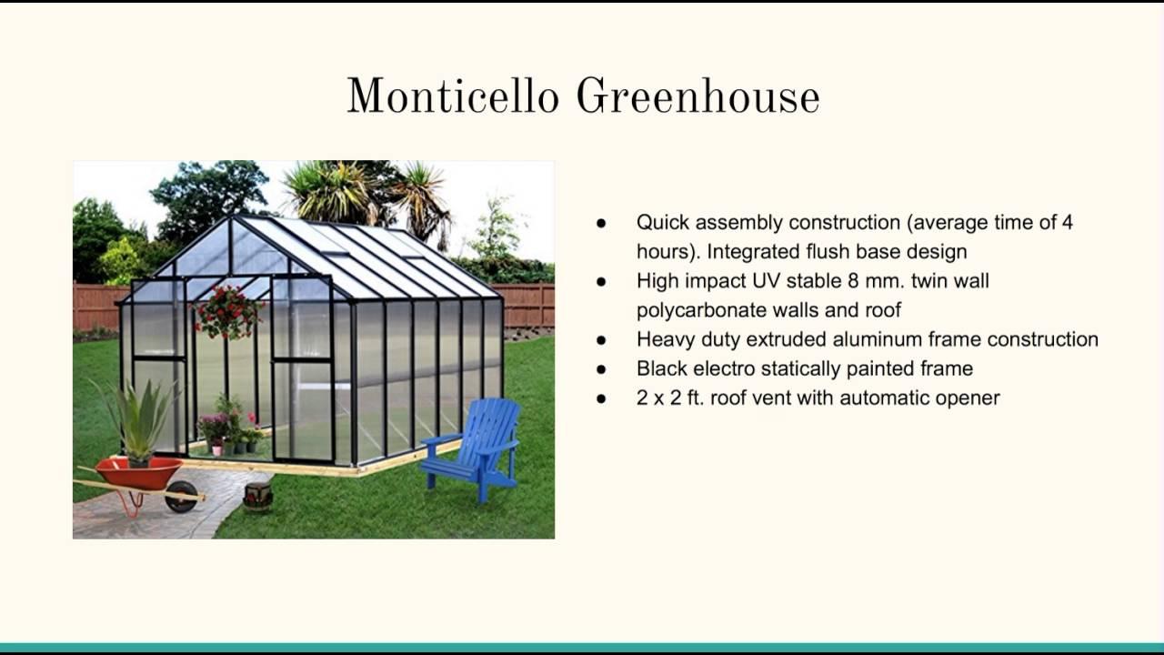 Prefab Greenhouse Kits - YouTube