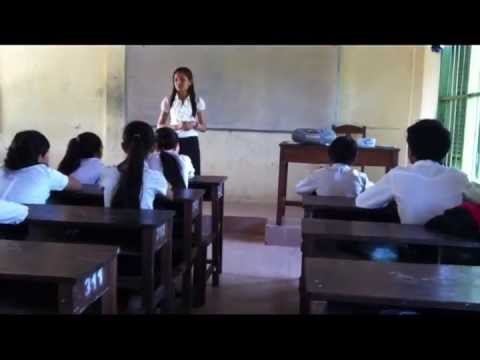 Teaching English by Radio in Cambodia 2