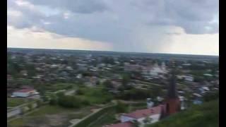 Вид с высоты Тобольского Кремля(Вид на город Тобольск с высоты Тобольского Кремля. Июнь 2011 года., 2011-06-25T14:57:06.000Z)