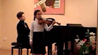 Иванова Лиза, концерт Акколаи. Г.З