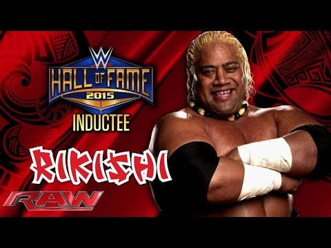 Rikishi is announced for the WWE Hall of Fame Class of 2015: Raw, February 9, 2015