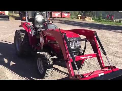 Mahindra 1526 Compact Tractor with Loader Informational Walk Around vs JD 3 series & Kubota