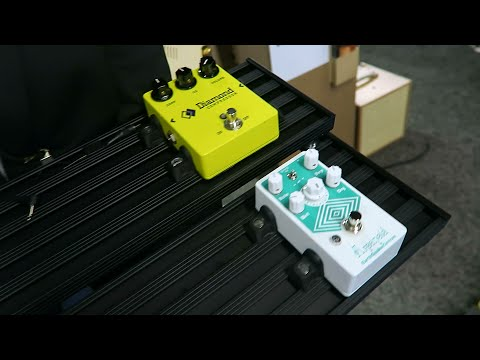 Aclam Smart Track Modular Pedalboards at Namm 2015 - No More Velcro!