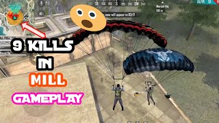 Mill 9 kills Ranked Match  gameplay With RMK WORLD GAMING|Garena Free Fire