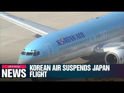 Korean Air to cut Busan-Sapporo flights in Sept. on falling demand amid trade spat