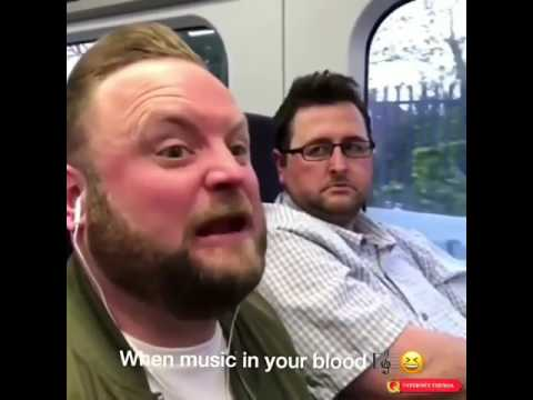 Arron Crasscall: How you sound when you sing loud with your headphones On.