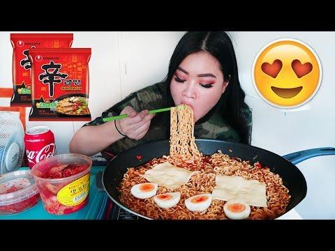 Shin Ramen | Spicy Ramen | Mukbang