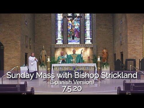 El obispo Strickland celebra la misa dominical | 7.5.20 HD