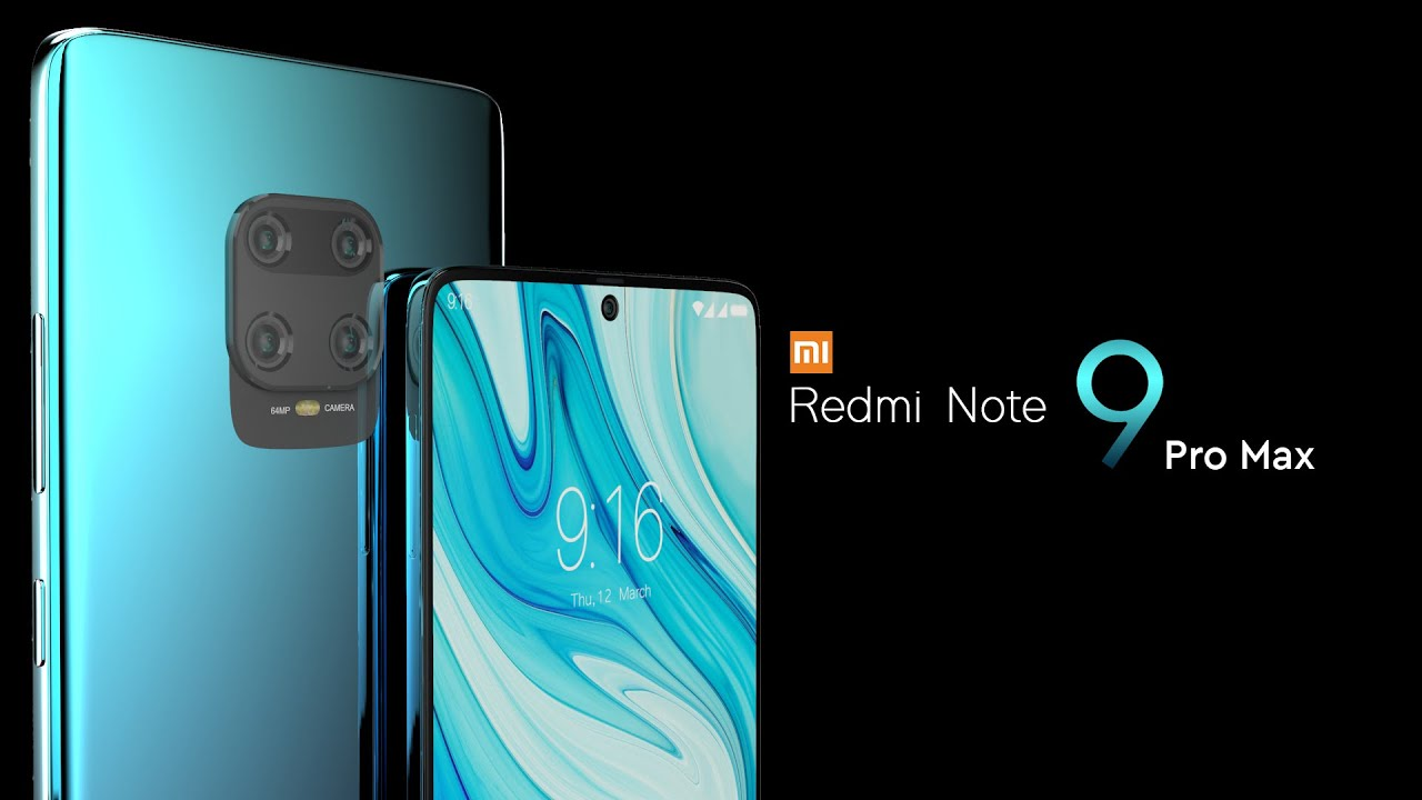 Xiaomi Redmi Note 9 Pro Max 2020 Trailer Concept Design Official Introduction Youtube