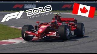 F1 2018 - Ferrari F2007 Onboard at Montreal