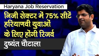 Haryana Private Job Reservation: Haryana Government to provide 75% reservation for private sector jobs for youth