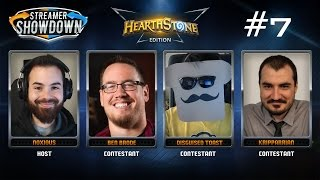 Streamer Showdown #7 Hearthstone (feat. Kripparrian, Ben Brode, Disguised Toast, & Noxious)