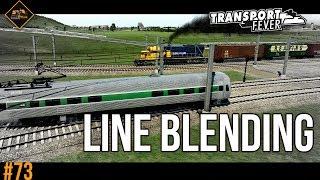 Blending Lines Together | Transport Fever The Alps #73