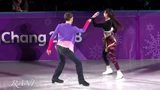 Yura MIN(민유라) & Alexander GAMELIN(알렉산더 겜린) 4K 180225 Pyeongchang 2018 Figure Skating Gala Show