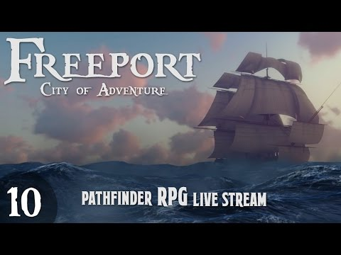 Pathfinder Table-top RPG: Episode 9 - Something Fishy