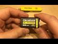 OkCell 9v PP3 Lithium Battery - 12v Solar Shed