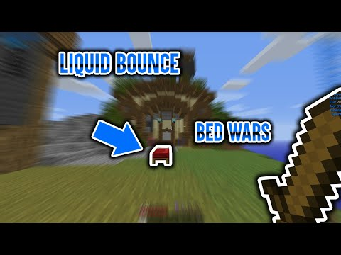 Hypixel Bedwars HACKING / LiquidBounce b60 free hack client - Free fly hack Minecraft