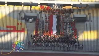 دوت مصر| هتافات المجندين لدعم المنتخب أمام تنزانيا