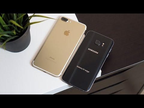 iPhone 7 Plus vs Galaxy S7 edge: More isn't always better