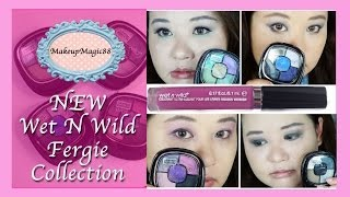 vibrant wet n wild limited edition fergie line   review looks