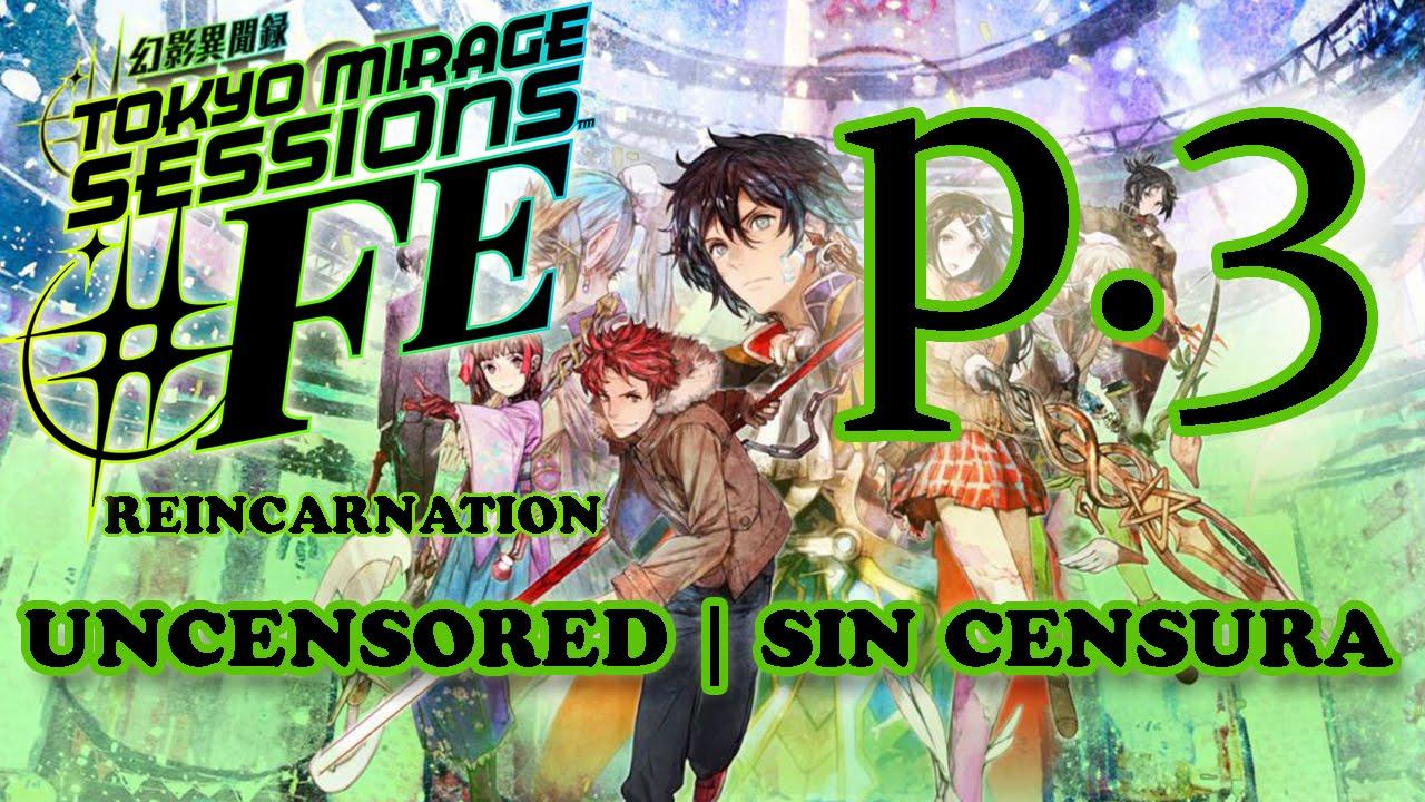 UNCENSORED Tokyo Mirage Sessions #FE WII U P.3 UNCENSORED