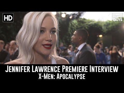 Jennifer Lawrence (Mystique) Premiere Interview - X-Men: Apocalypse