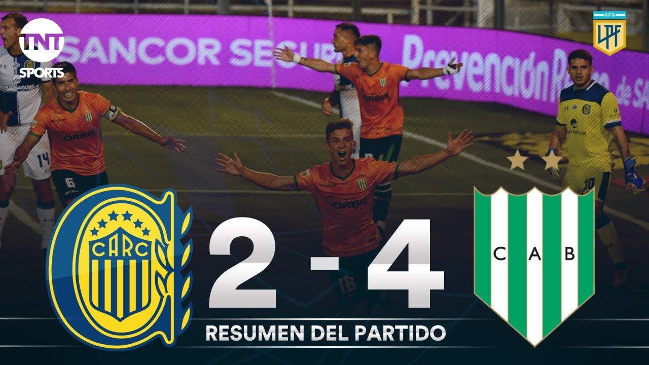 Resumen de Rosario Central vs Banfield (2-4) | Fecha 3 | Zona 3 - Copa Liga Profesional