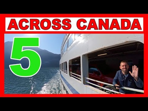 FERRY From Nanaimo To Vancouver!