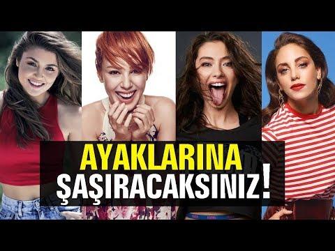 Adriana Lima'nın Ayakları Olay Oldu! Peki Ya Türk Ünlülerin Ayakları