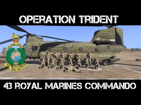 Arma3 - 43 Royal Marines - Operation Trident Day 1