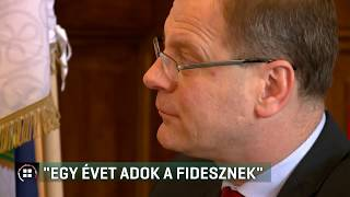 """Navracsics Tibor: """"Egy évet adok a Fidesznek"""" 20-01-08"""