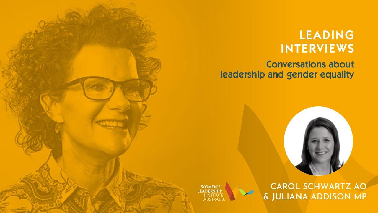Leading Interviews Ep 6: Juliana Addison MP
