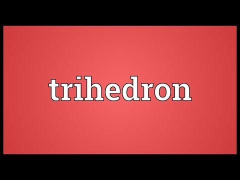 Header of trihedron