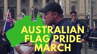 What Happens During an Antifa Infested Aussie Pride Rally
