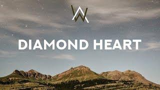 Gambar cover Alan Walker ‒ Diamond Heart (Lyrics) feat. Sophia Somajo