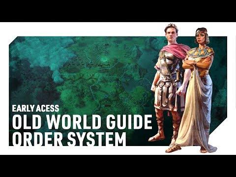 Old World Guide: Order System