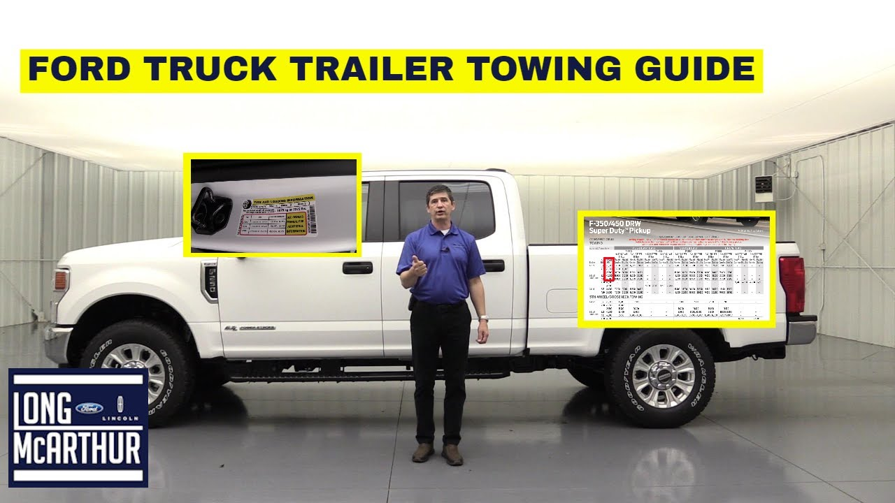 HOW TO SPEC OUT YOUR FORD TRUCK FOR TOWING AND PAYLOAD USING THE TRAILER TOWING GUIDE