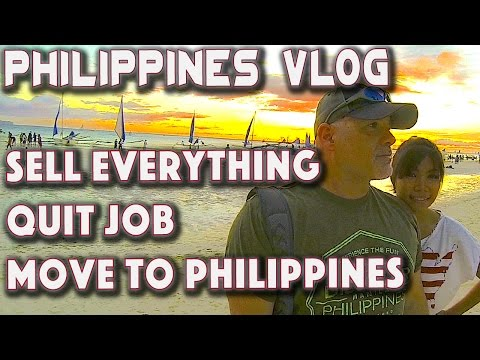 Sell Everything | Quit Job | Move to Philippines