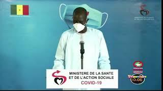 Situation de la covid-19 au Sénégal ce Mercredi 17 Juin 2020