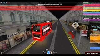 Torre di Londra Roblox & Sud Bus Simulator V6 Enviro 400 MMC città rotta di transito 25
