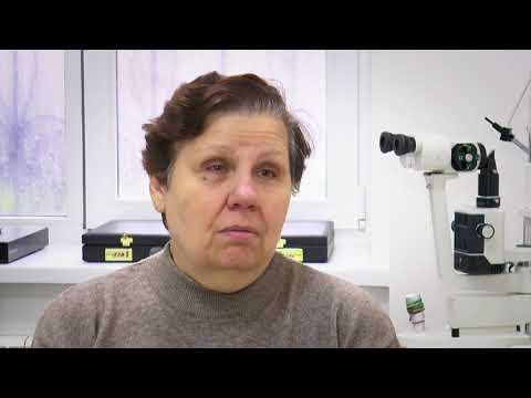 Глазная клиника «Окулюс». Операция катаракты. Отзыв пациента Людмилы Алексеевны